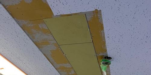 天井ボード交換工事